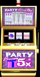 freeslots com party bonus 5x